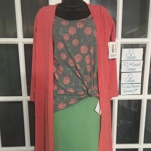 THREE PIECE OUTFIT Classic T Cassie Sarah Lularoe